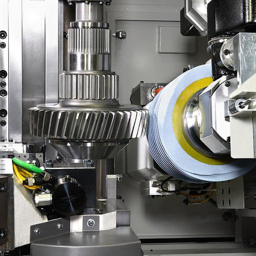 Grinding is used to produce a smooth finish on flat surfaces that is specially required for precision machining.